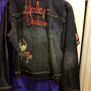Harley Davidson Women's Demin Jacket